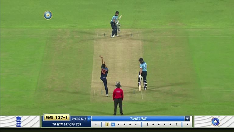 Stokes mistimed a drive off Prasidh Krishna to fall for just a single in the first ODI against India