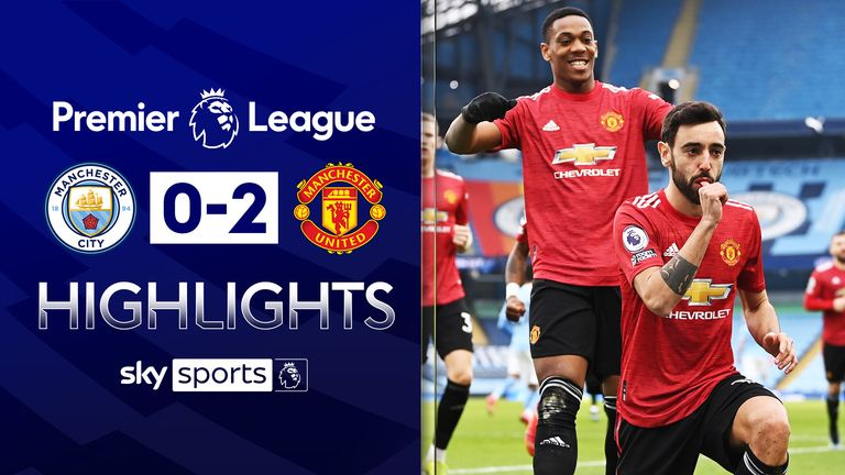 FREE TO WATCH: Highlights from Manchester United's win against Manchester City