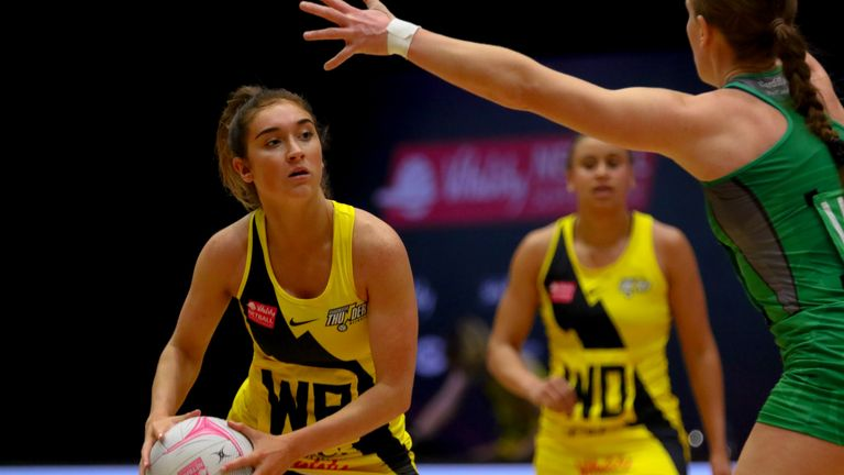 Manchester Thunder's contest with Leeds Rhinos Netball this weekend should be a great one (Image Credit - Ben Lumley)