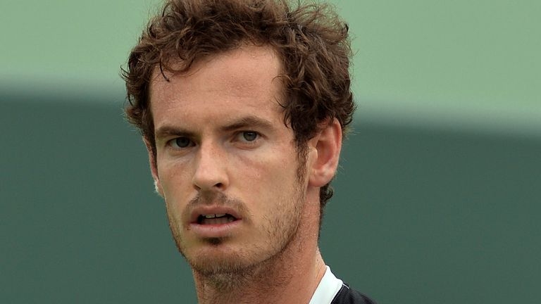 Andy Murray says he suffered a 'freak' injury prompting him to withdraw from the Miami Open