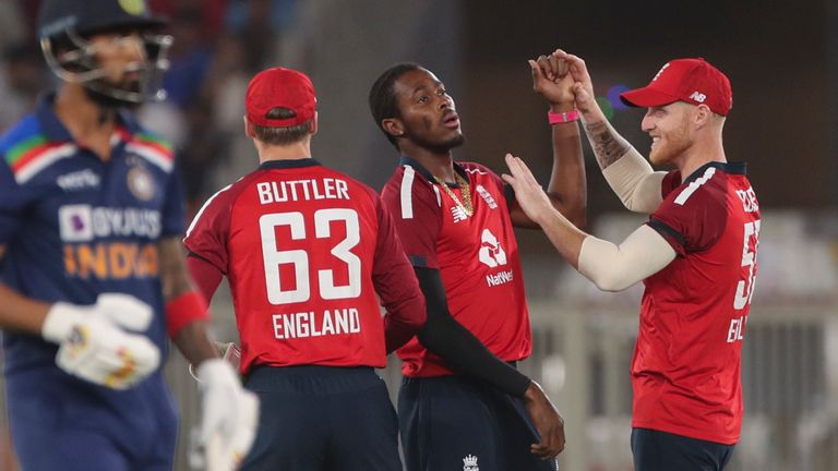 England's three remaining T20s against India in Ahmedabad will be played behind closed doors due to a rise in coronavirus cases