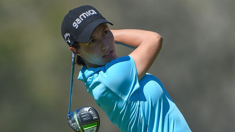 Carlota Ciganda has carded rounds of 71, 65 and 75 over the first three days