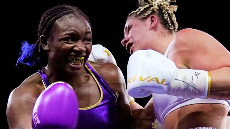 Claressa Shields defeats Marie-Eve Dicaire to become undisputed super-welterweight champion |  Boxing News