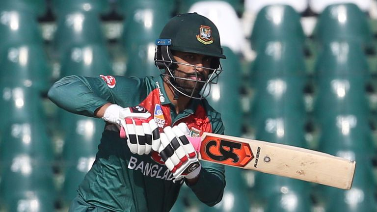 Tamim Iqbal top-scored with 78 for Bangladesh before being run out