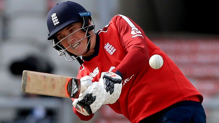 England have called Tom Banton into the squad