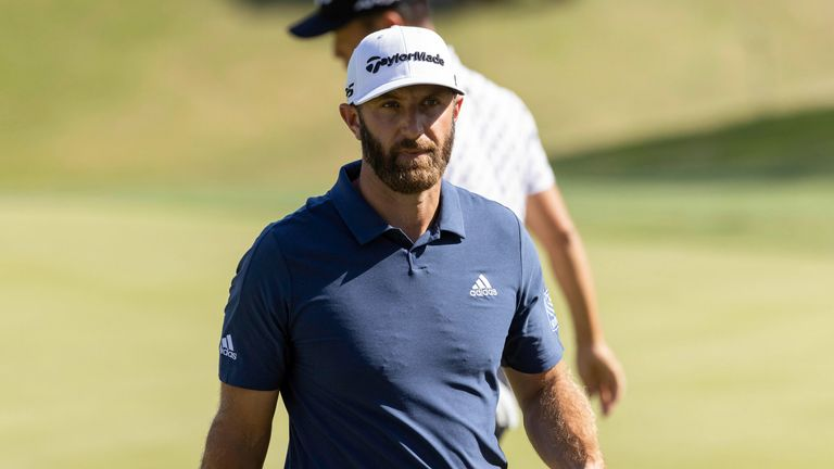 Dustin Johnson will not take part at this week's Valero Texas Open