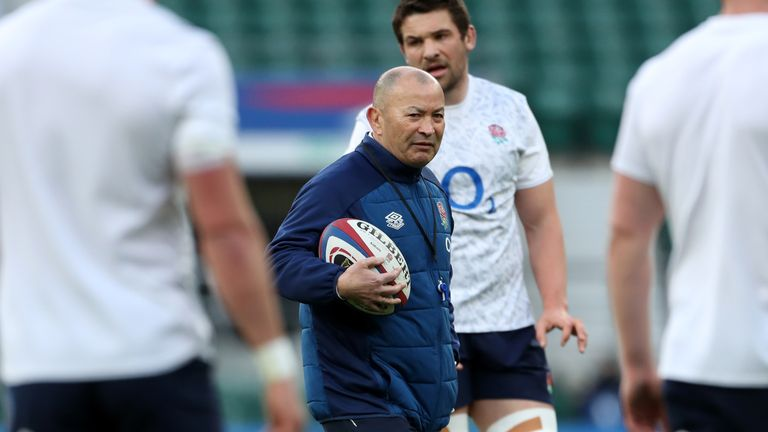 Jones has led England to three Six Nations titles since becoming head coach in 2015