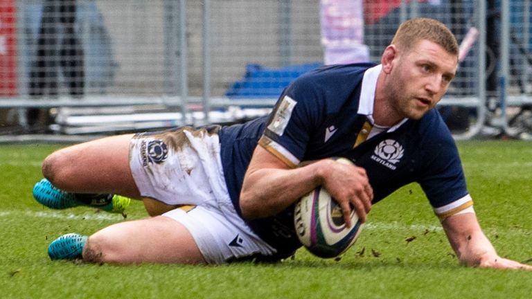 Russell's Scotland can finish second in the Six Nations if they beat France