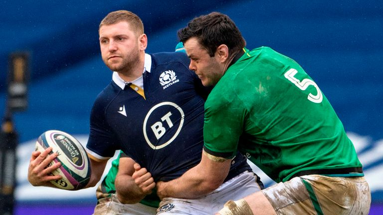 Finn Russell had a mixed afternoon