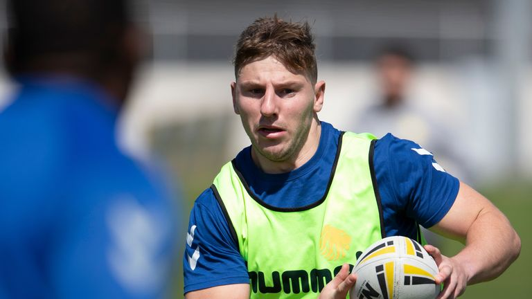 George Williams is relishing another season in the NRL