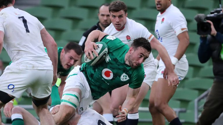 Ireland humbled England with a comfortable 32-18 win in Dublin on Saturday