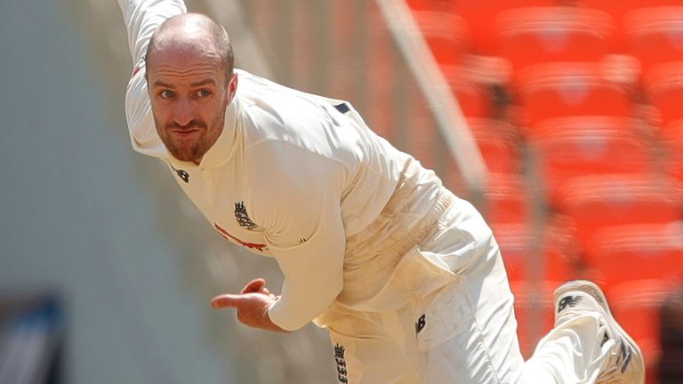 England spinner Jack Leach says Stokes has shown courage and bravery