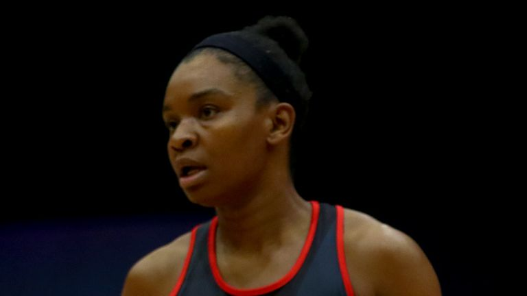 Jodie Gibson made her debut for Saracens Mavericks in Round Four and excelled  (Image Credit - Ben Lumley)