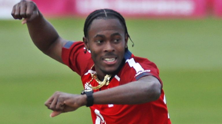 Jofra Archer is hoping to be fit to play for England in the T20 World Cup after undergoing elbow surgery