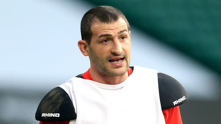 Jonny May scored a try, but it was little consolation for England