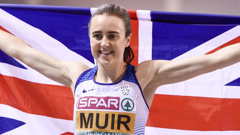Laura Muir says she is more robust ahead of the Tokyo Olympics