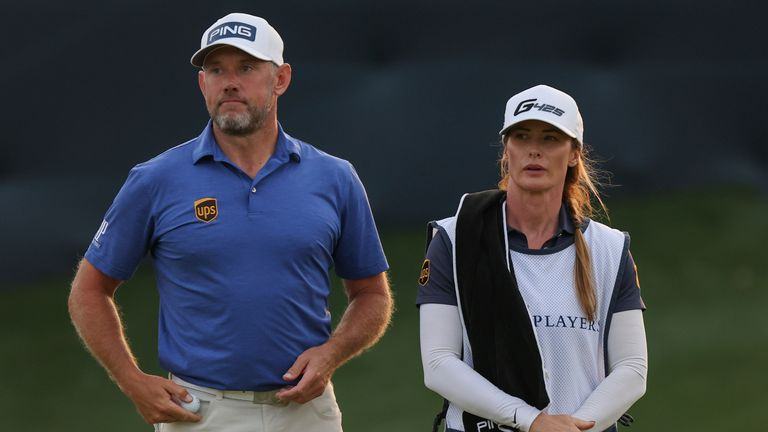 Westwood will have his son Sam as his caddie at The Masters rather than his regular caddie and fiancee Helen Storey