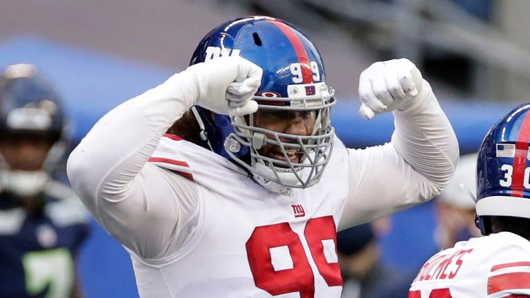 Leonard Williams gets his pay day in New York (AP Photo/Larry Maurer)