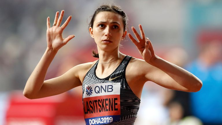 Three-time high jump world champion Mariya Lasitskene jas competed as an Authorised Neutral Athlete and could do so again