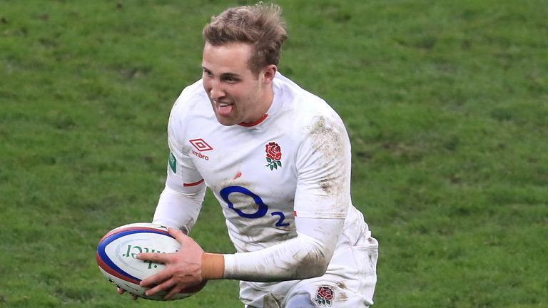 Malins will make his first England Test start, having replaced Elliot Daly at full-back