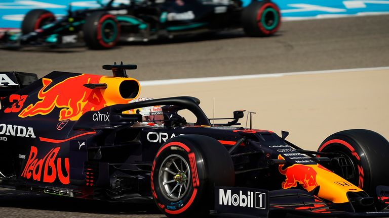 Bahrain GP: Red Bull on top as Max Verstappen seals practice double in P2 ahead
