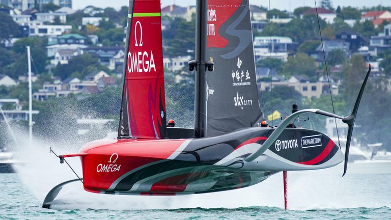 Emirates Team New Zealand are on the brink of defending the America's Cup (Image Credit - ACE | Studio Borlenghi)