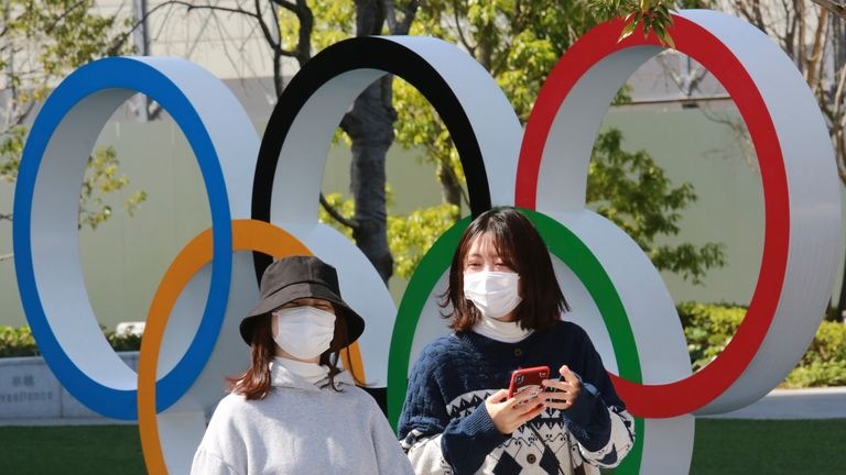 There is wide public opposition to the Games taking place in Tokyo due to the coronavirus pandemic