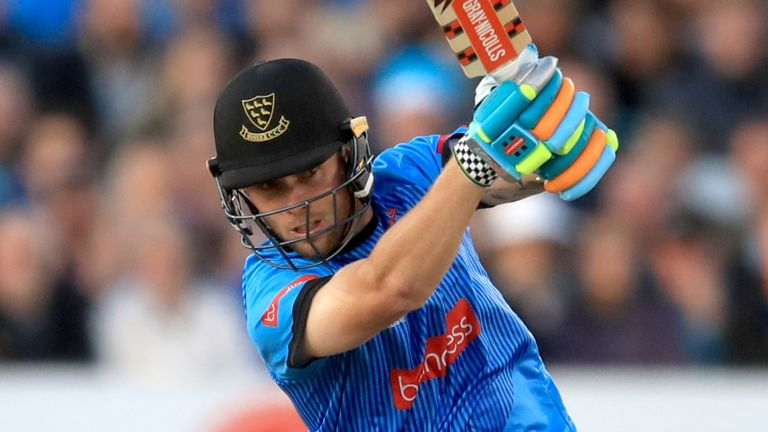 Sussex opening batsman Phil Salt has his eyes set on earning a first international cap with England