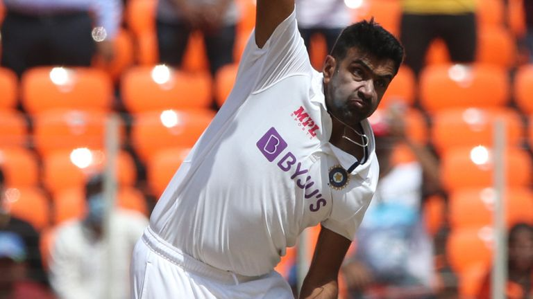 Ravichandran Ashwin finished as the leading wicket-taker for the series with 32 (Pic credit - BCCI)
