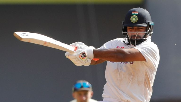Rishabh Pant scored a brilliant hundred as India took control of the fourth Test (Pic credit - BCCI)