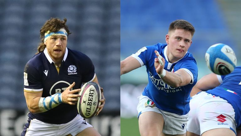 Scotland face Italy in the Six Nations this weekend