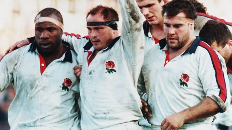 Ubogu won 24 caps for England and played at the 1995 Rugby World Cup