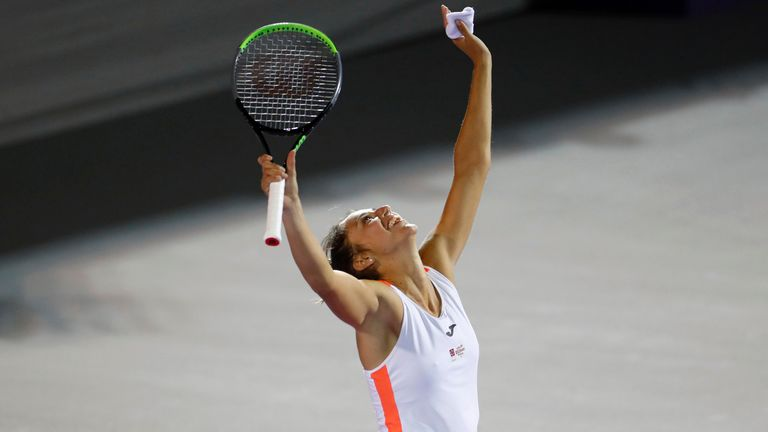 Spain's Sara Sorribes Tormo clinched the Abierto Zapopan title in Mexico