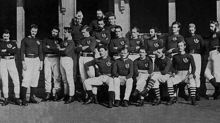 The 1871 Scotland team triumphed against England
