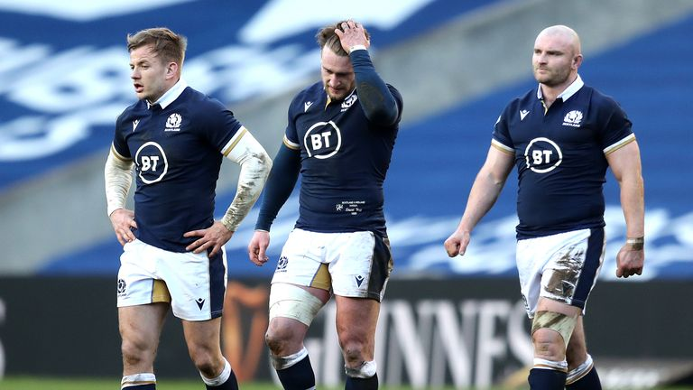 Scotland have suffered narrow defeats in their last two Six Nations matches