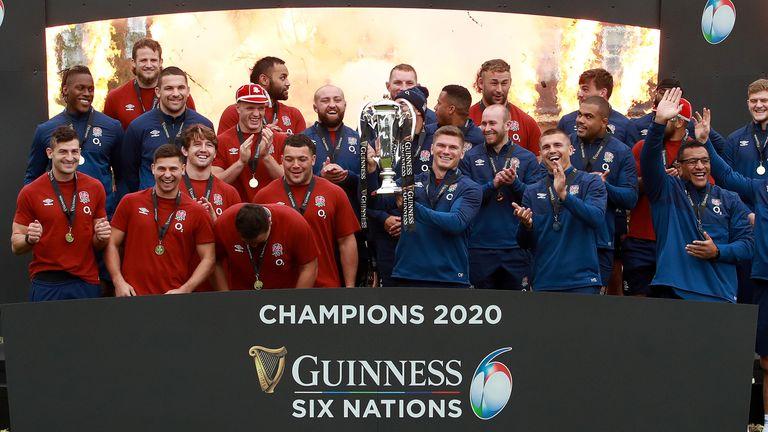 England won last year's men's Six Nations