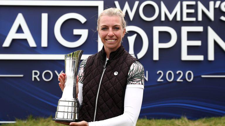 Sophia Popov will defend her title at Carnoustie