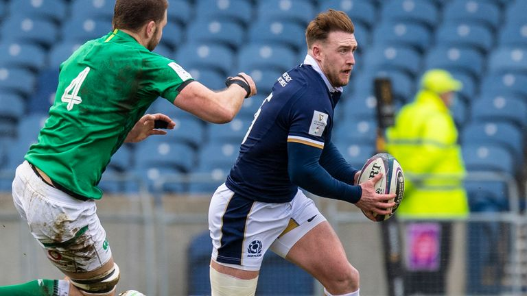 Hogg insists he will not be attempting any of Finn Russell's maverick manoeuvres