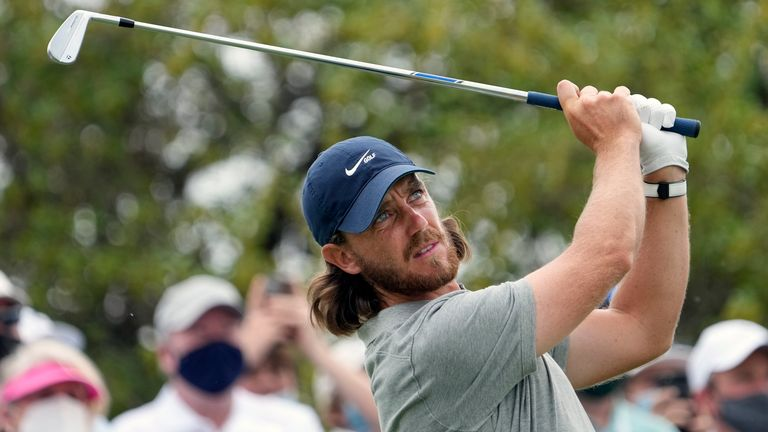 Tommy Fleetwood was never behind over the regulation 18 holes against Billy Horschel