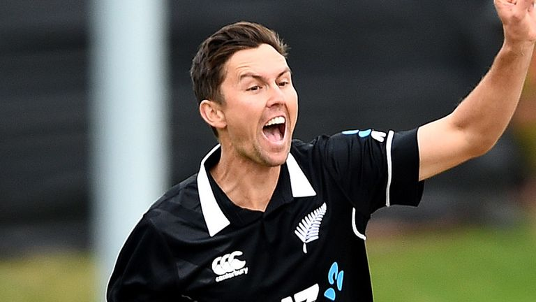 New Zealand skittle Bangladesh for 131 in emphatic eight-wicket win in ODI