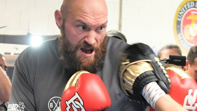 Tyson Fury's coach Andy Lee is now working with Joseph Parker