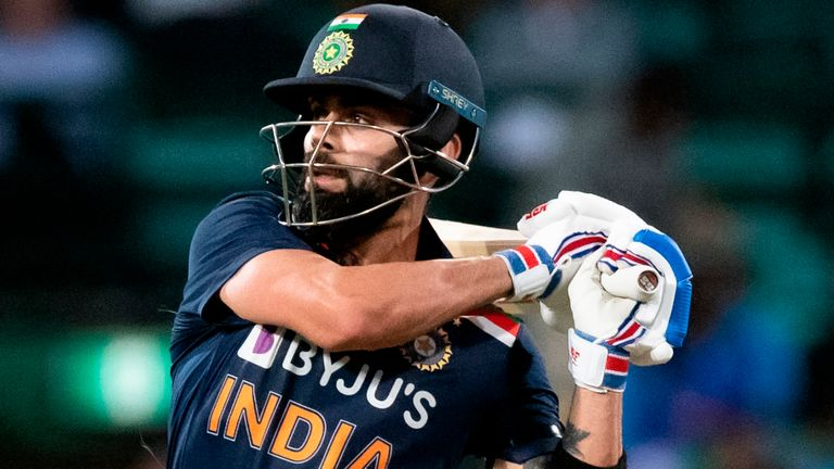 India captain Virat Kohli has scored 12,040 runs in 251 ODIs