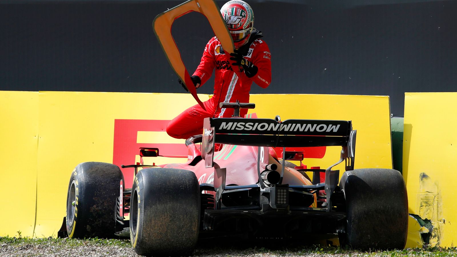 Emilia-Romagna GP: Mercedes fastest as Max Verstappen's Red Bull drops out in Practice Two