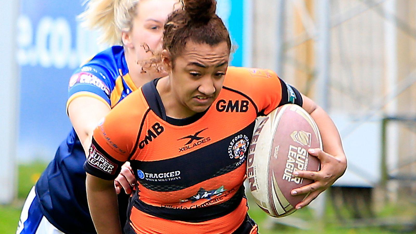 Women's Super League: Castleford Tigers' Kelsey Gentles ...