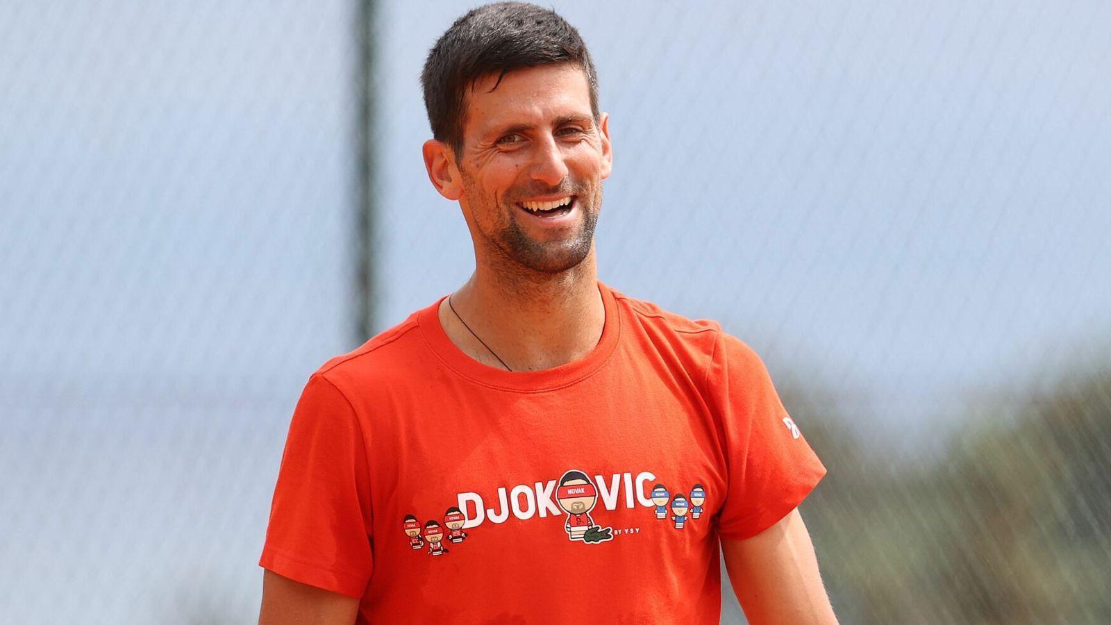 Novak Djokovic is proud of the Monte Carlo Masters  Tennis news