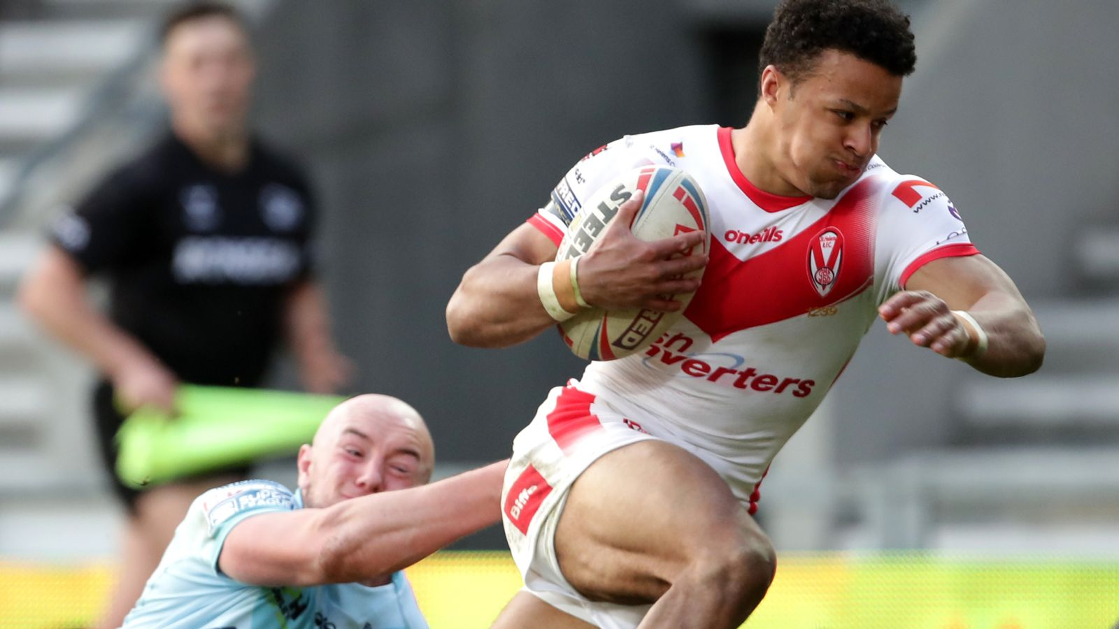 St Helens 34-6 Wakefield: Super League champions cut loose in second half to register big win