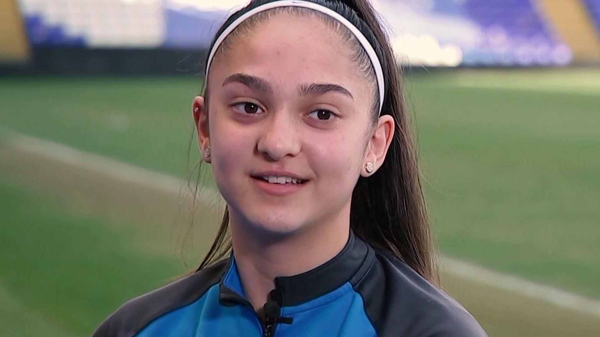 Layla Banaras: My dream to play for England