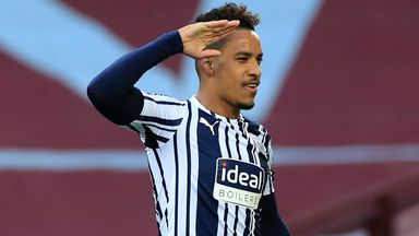 """Matheus Pereira is upset at being called """"not committed"""" by West Brom boss Valerien Ismael"""