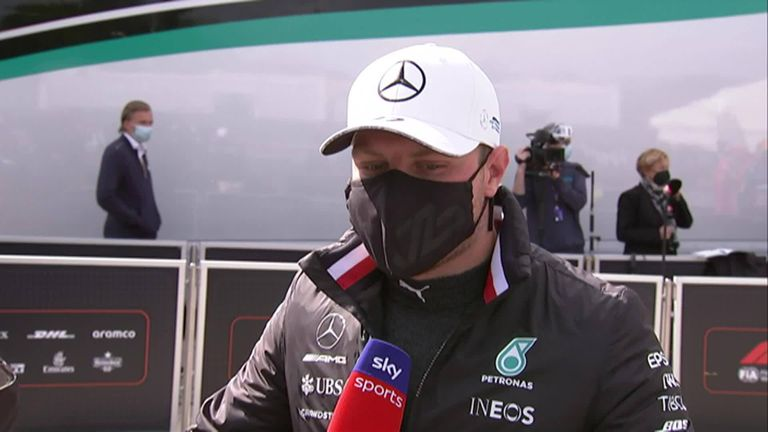 Valtteri Bottas was left confused as to what went wrong in Q3 as he'll start in eighth for the Emilia Romagna Grand Prix.