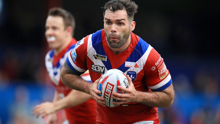 Anthony England in action for Wakefield Trinity